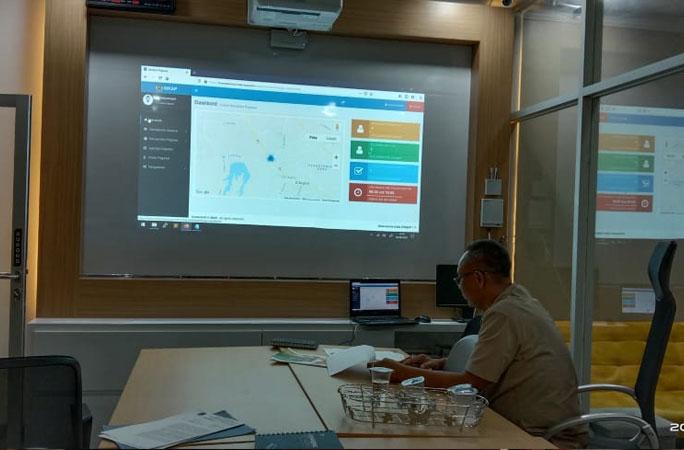Pelatihan E-Absen di Kota Cilegon